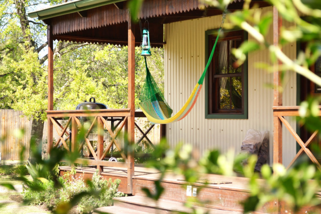 read in the hammock at forest edge nature lovers retreat